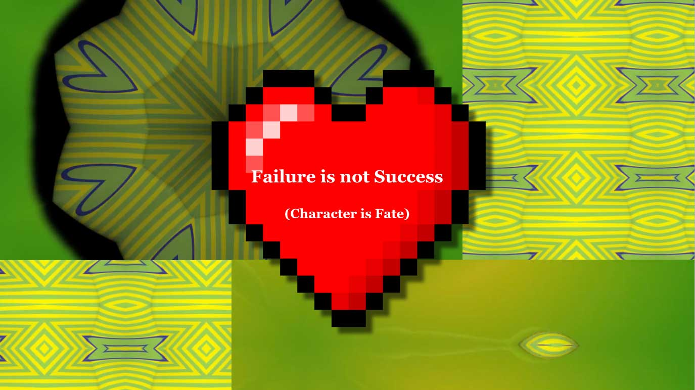 Failure is Not Success