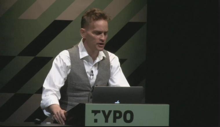Watch Elliott Earls Presentation at TypoSF