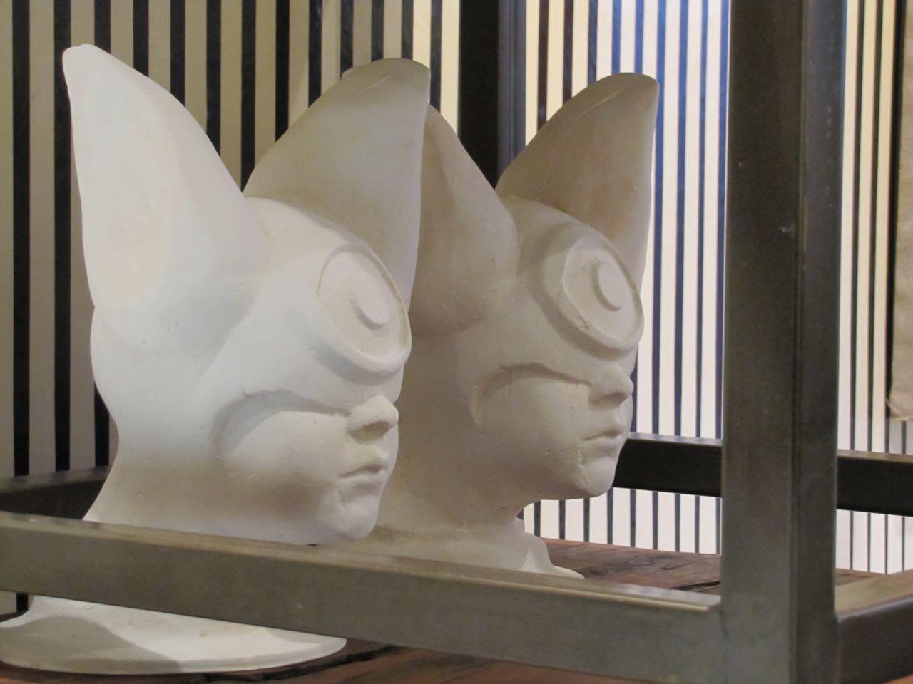 Elliott Earls Installation at Collider